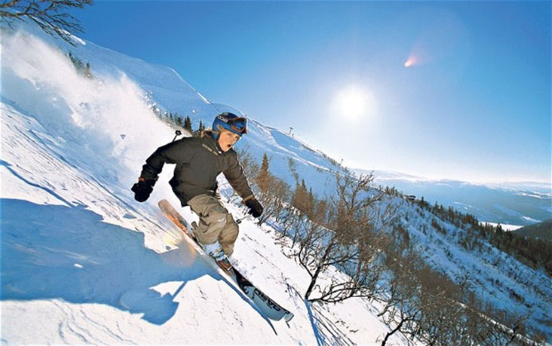 Are İsveç kayak mekezi