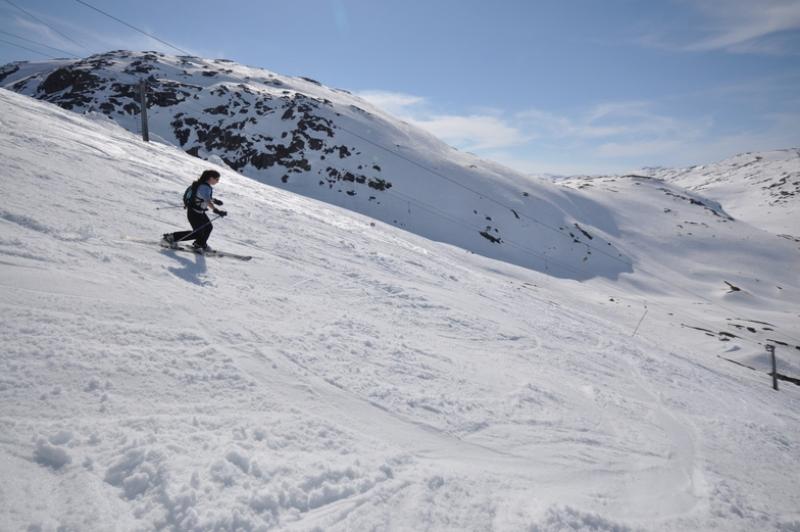 Riksgransen, İsveç kayak merkezi