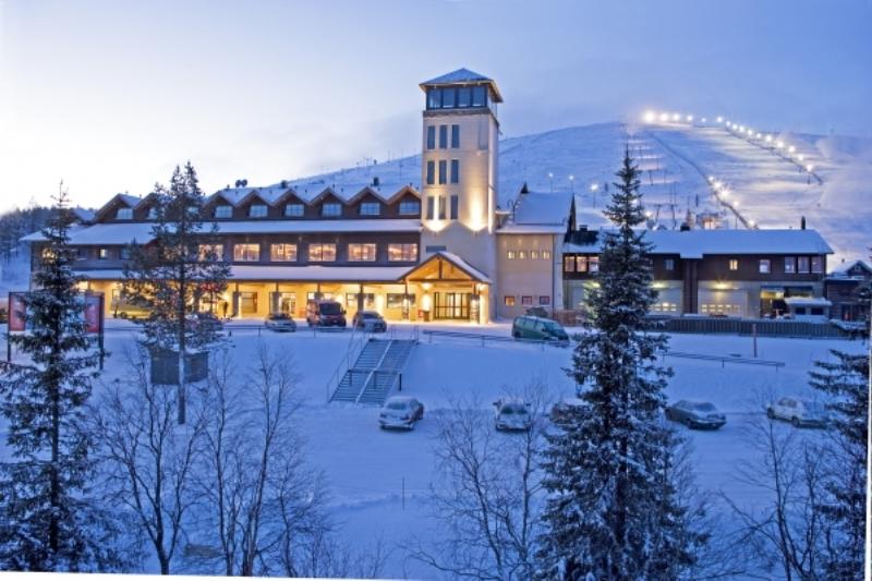 Yllas, Finlandiya kayak merkezi