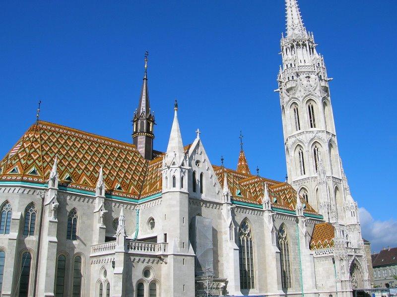Budapeşte mathias kilisesi