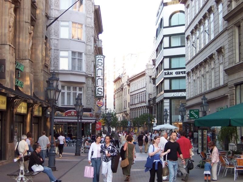 Budapeşte vagi utca caddesi