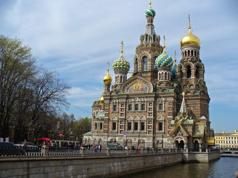 St. Petersburg kanlı kilise