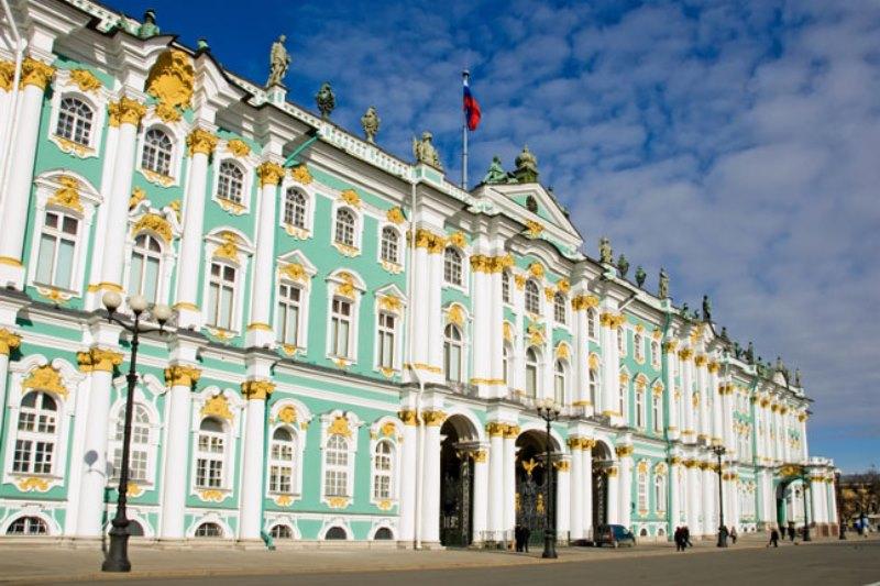 St. Petersburg nerede