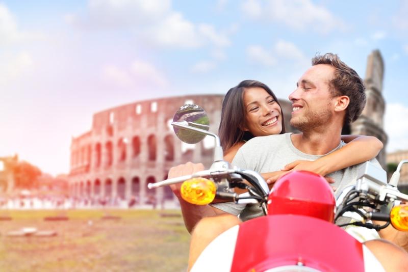 en romantik roma tatili