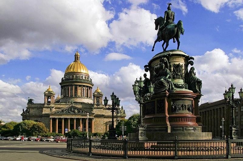 St. Petersburg Saint isaac katedrali