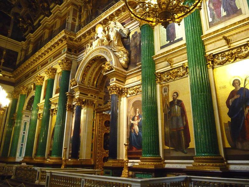 St. Petersburg St. isaac katedralinin içi