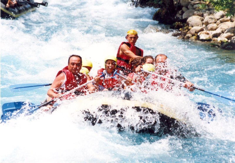 Antalya'da rafting