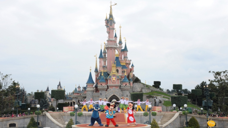 Paris disneyland gezisi