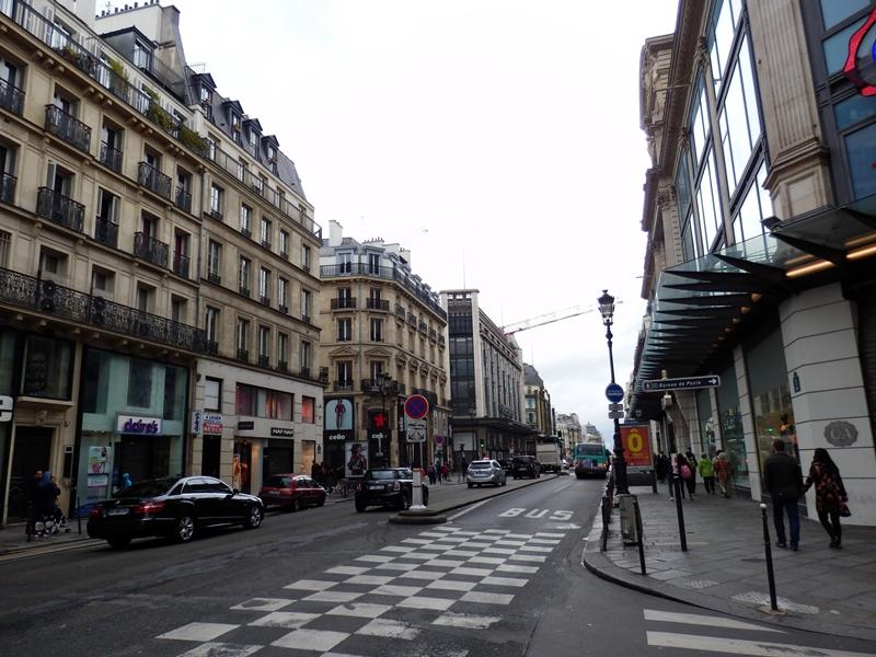 paris sokakları