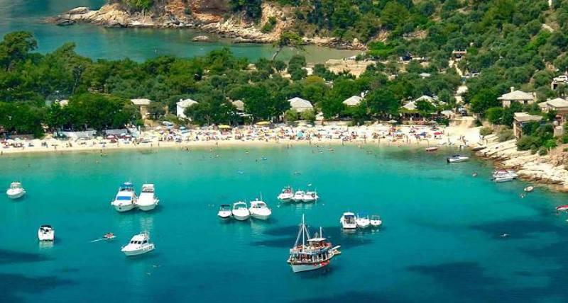 Thassos Adası Beachleri