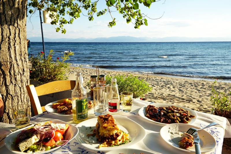 Thassos adasında nerede ne yemek yenir