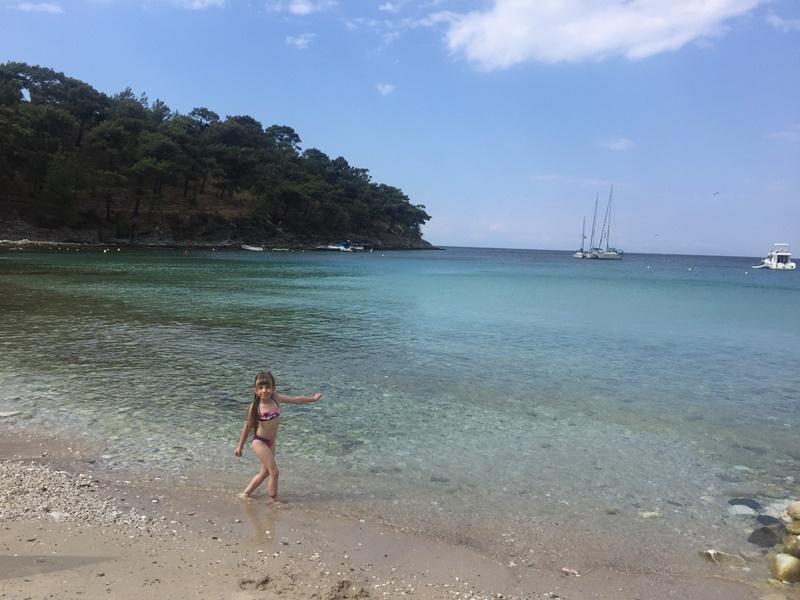 aliki beach thassos adası