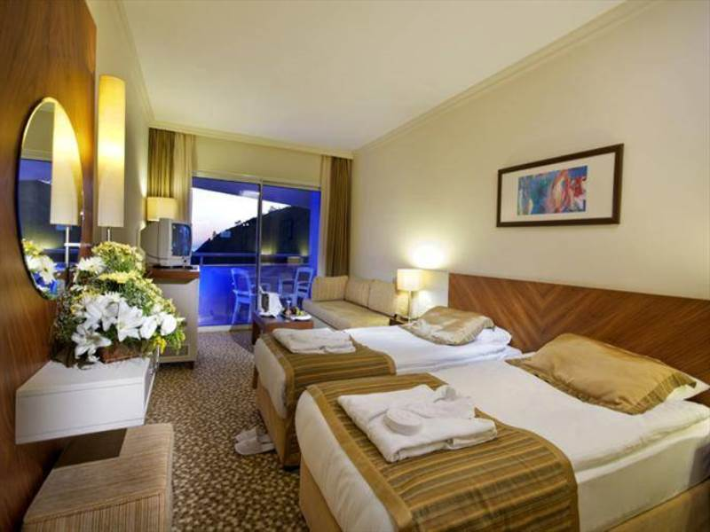 rixos otel tekirova odaları