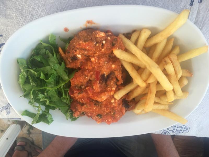 thassos adasının meshur yemekleri