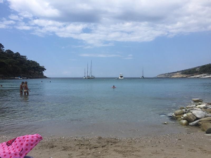 thassos aliki beach