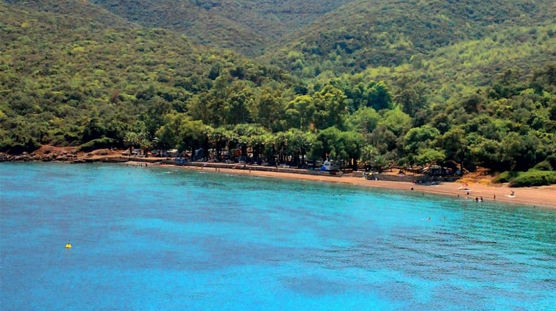 Marmaris Boncuk koyu plajı