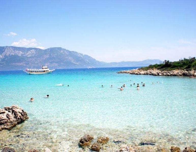 Marmaris Kleopatra plajı - Sedir Adası