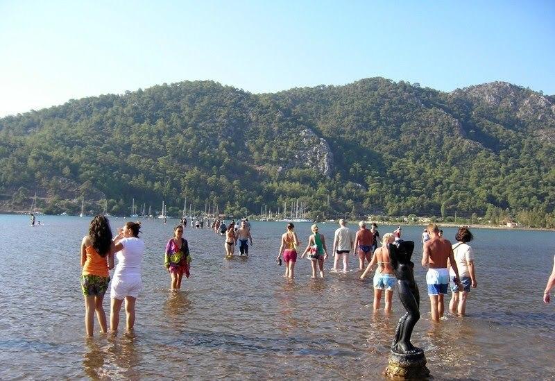 Marmaris Orhaniye kızkumu plajı