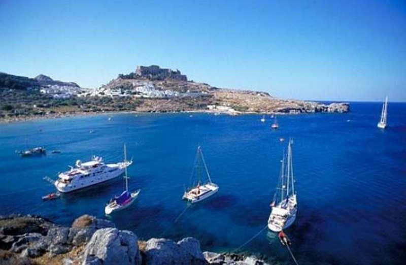 Rodos adası marmaris arası