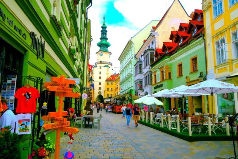 Bratislava'da Gezilecek Yerler
