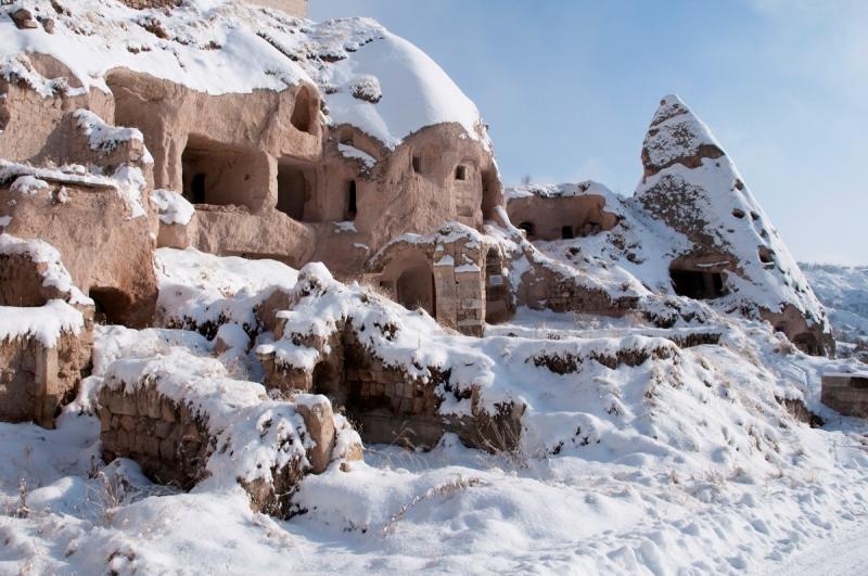 kapadokyada kış tatili