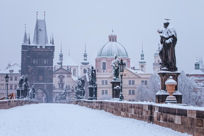 pragda kış tatili