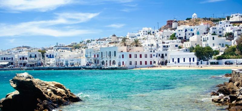 En romantik rotalar - Mykonos Yunanistan
