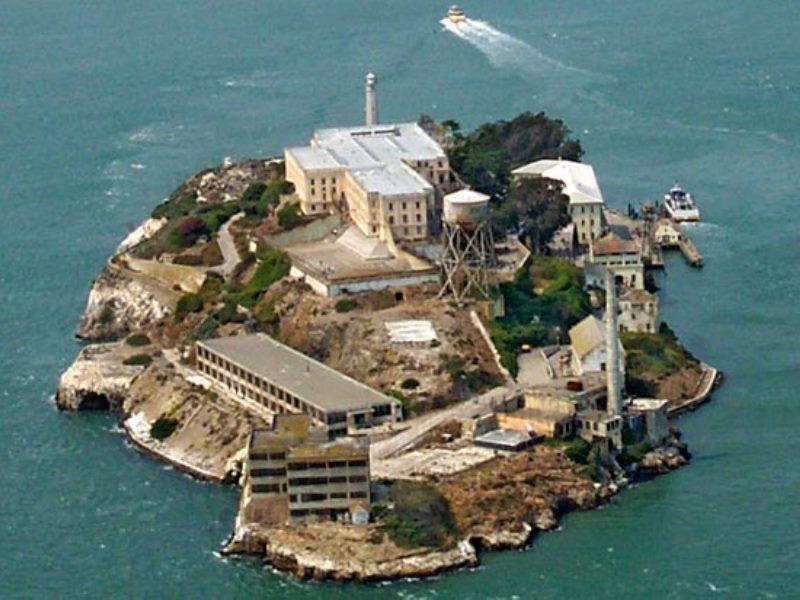 San francisco Alcatraz adası
