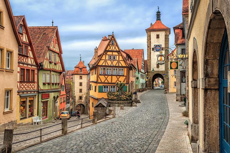 avrupanın en romantik şehirleri - Almanya romantik yol