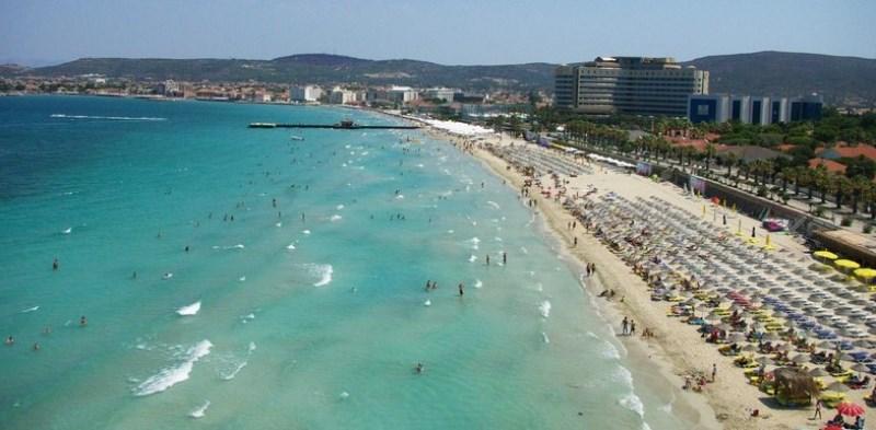 çeşmenin en güzel plajları - çeşme ılıca plajı