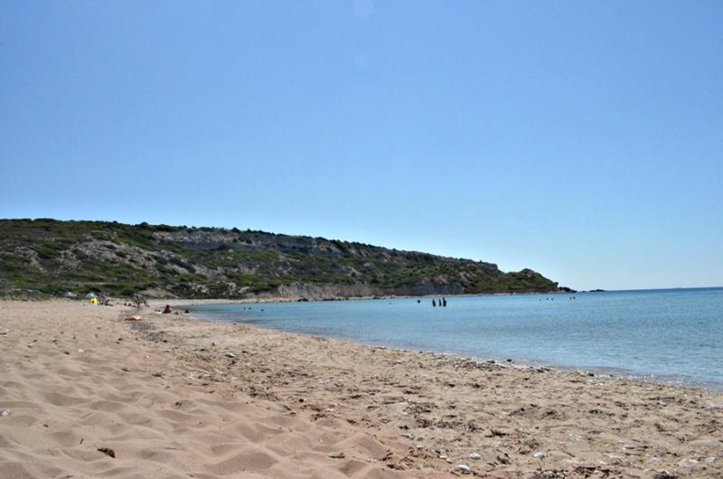 Bozcaada Habbale plajı