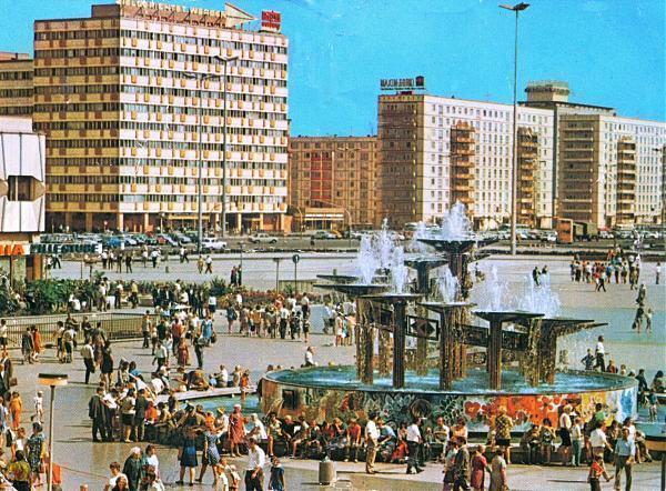 BerlinAlexanderplatz meydanı