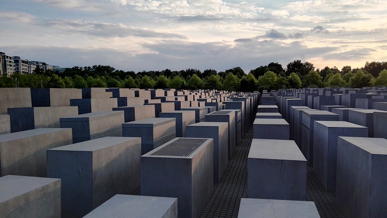 Berlin Holocaust Memorial - Berlin yahudi anıtı