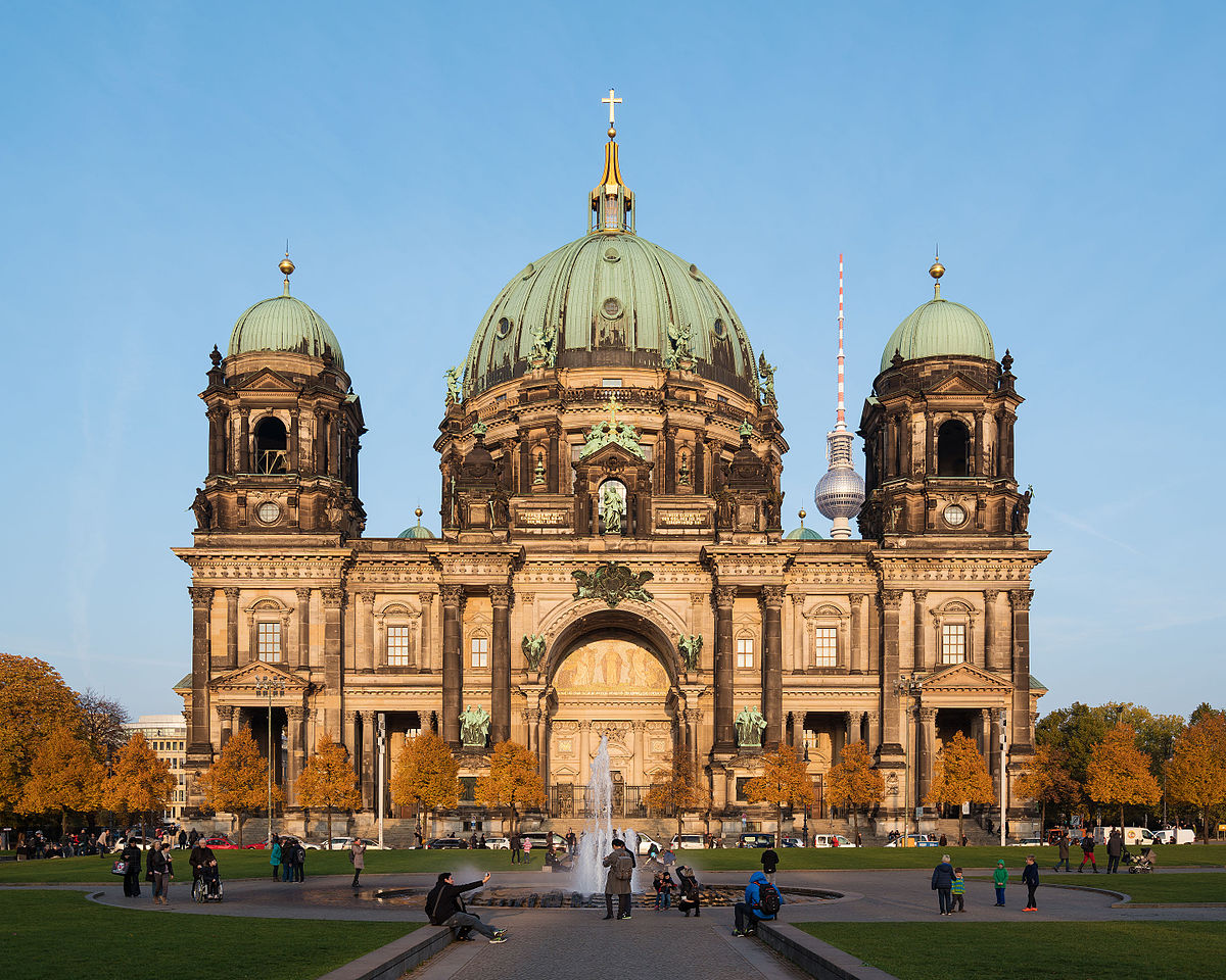 Berlin Katedrali ( Berliner Dom )