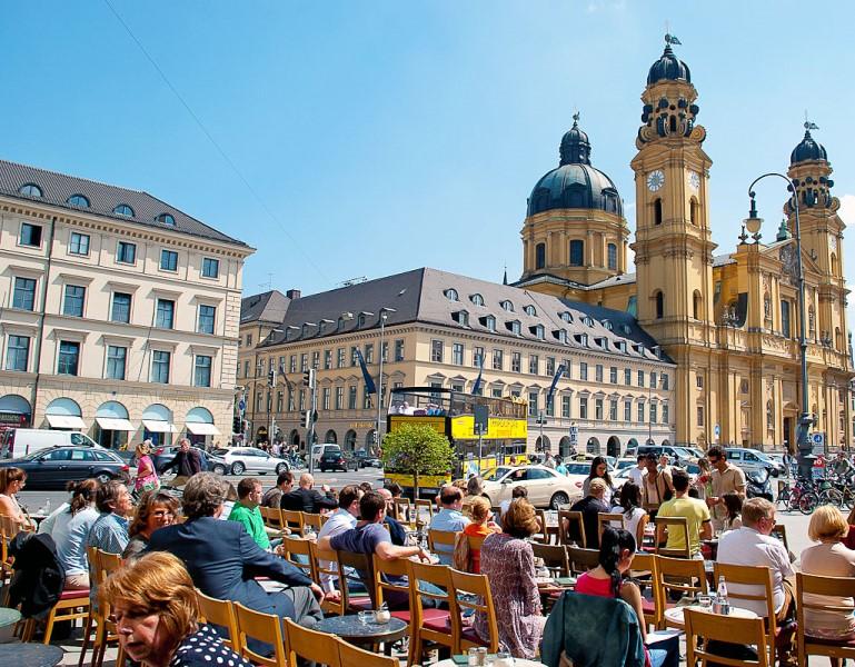 Münih şehir merkezinde konaklama