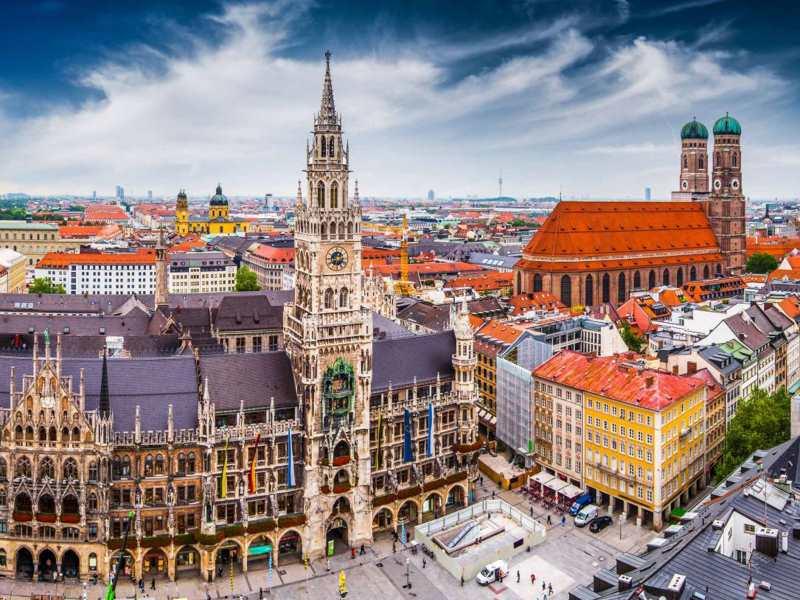 Münih'te gezilecek yerler listesi