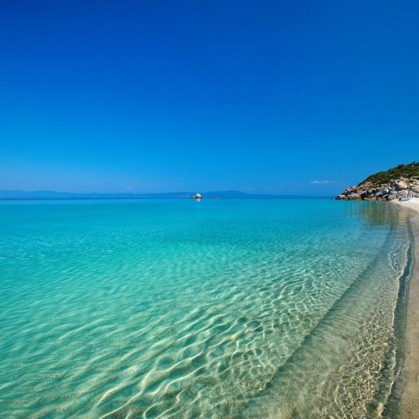 Halikidiki'de gidilecek plajlar