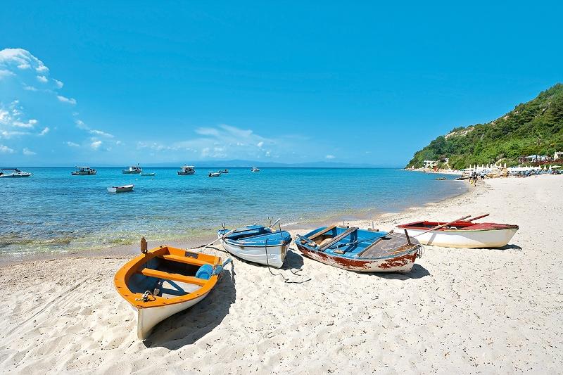 Halkidiki kassandra plajları