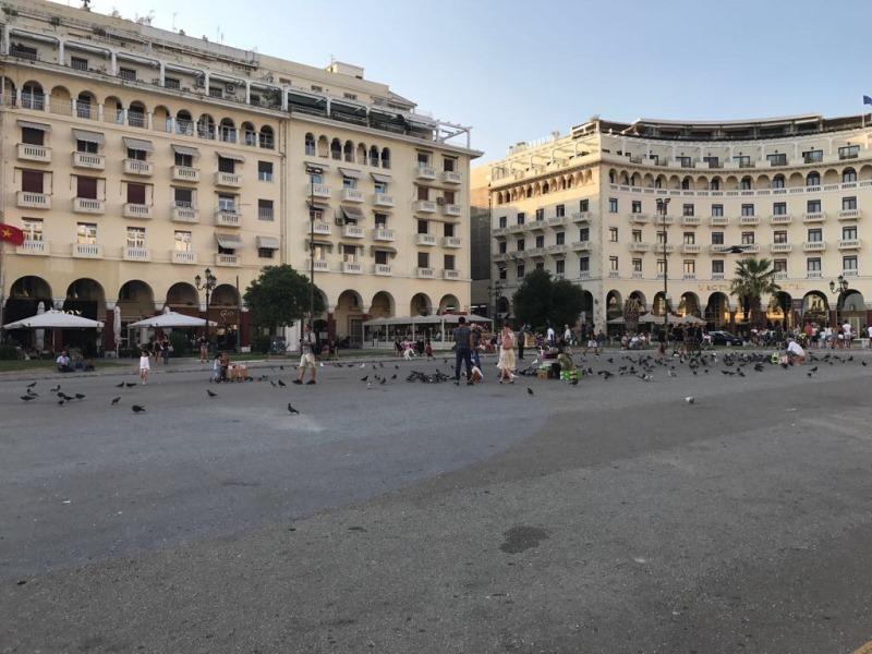 Selanik Aristotelous Meydanı - selanik gezilecek yerler