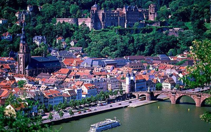 Heidelberg'de gezip görülecek yerler