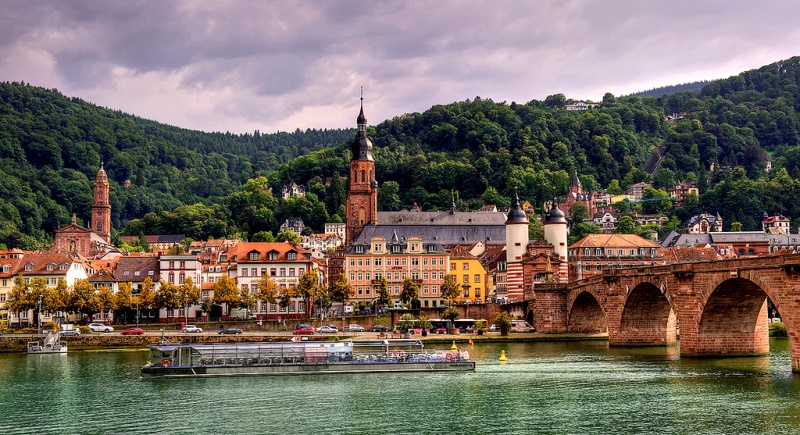 Romantik yol Heidelberg