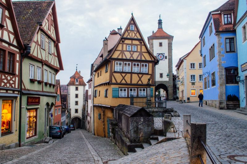 Rothenburg ob der tauber Almanya gezilecek noktalar