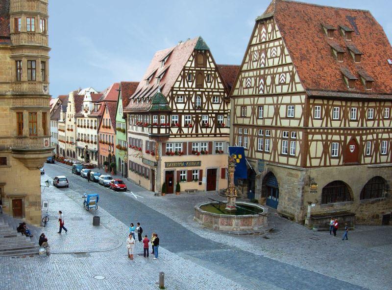Rothenburg'a nasıl gidilir