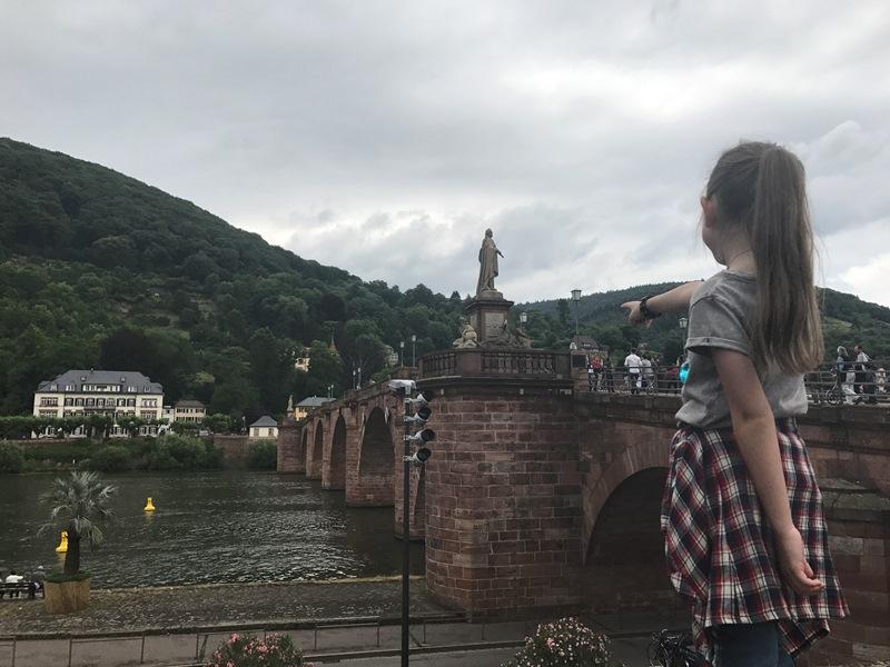 heidelberk kalesi - heidelberg eski köprü