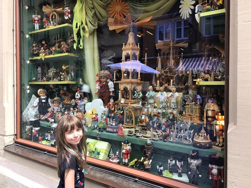 rothenburgda alışveriş