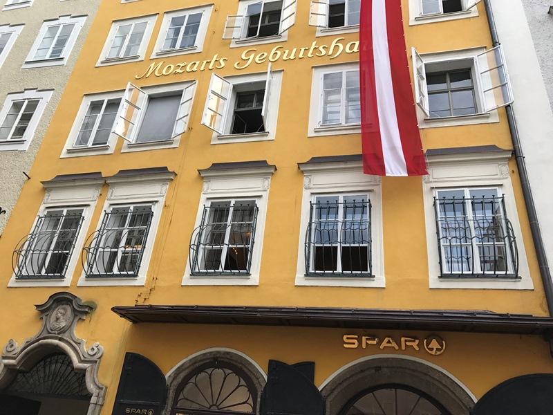 Salzburg Mozartın evi