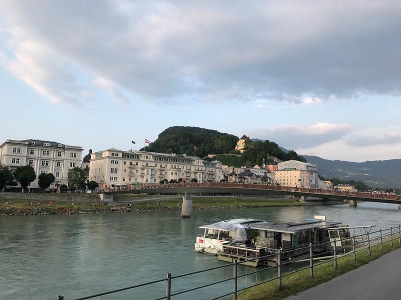 Salzburg Salzach nehri