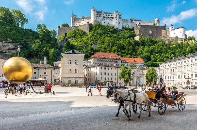 Salzburg'da Gezilecek Yerler