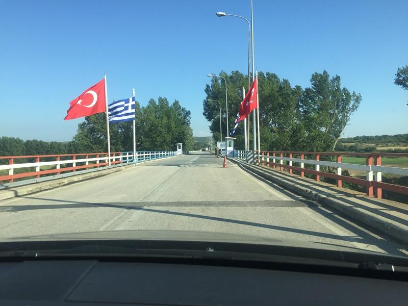 Yunanistana araba ile gitmek