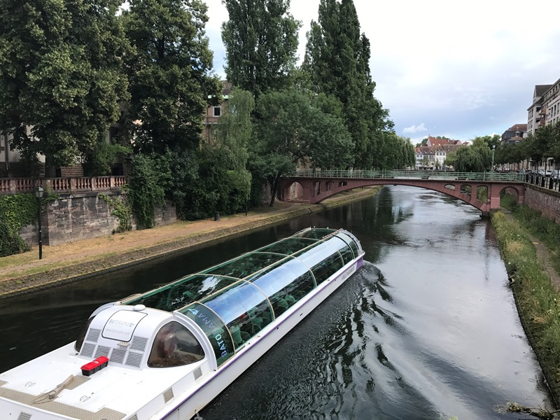 strazburg gezilecek yerler - bot gezisi